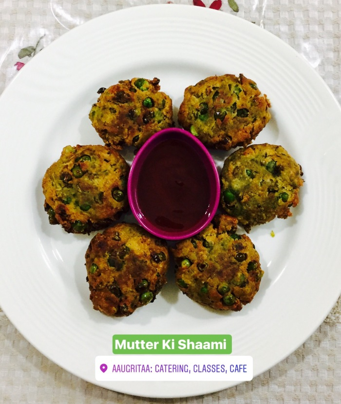 Mutter ki Shaami Kebab